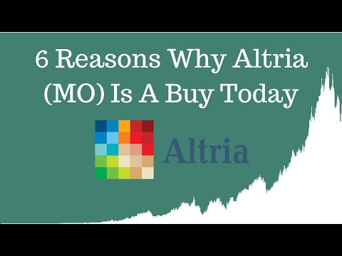 6 Reasons Why Altria Stock is a Buy Today [JUNE 2019 ANALYSIS]