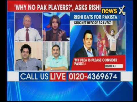 Actor Rishi Kapoor bats for Pakistani players; why separate sport from reality?