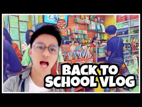 BACK TO SCHOOL SHOPPING + VLOG 2019! (Philippines) | Hi Im Kervy