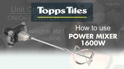 Topps Tiles Electric Drill Mixer 1600W