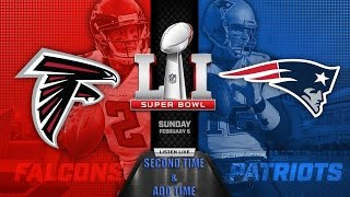 Super Bowl LI (51) 2017 Segundo tiempo y prorroga - Español- Second time & Added time