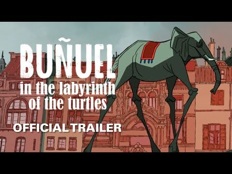 Buñuel in the Labyrinth of the Turtles [Official Trailer, GKIDS – Opens August 16]
