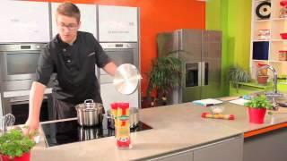Pastagerecht : Capellini met gehaktballetjes in tomatensaus - Panzani