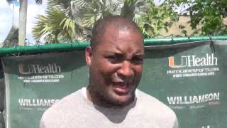 Defensive Backs Coach Paul Williams - Spring Practice (March 3)