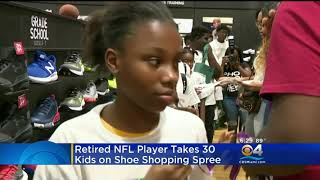 WFOR 8 16 18 Vernon Carey Shoe Shopping Spree 6pm