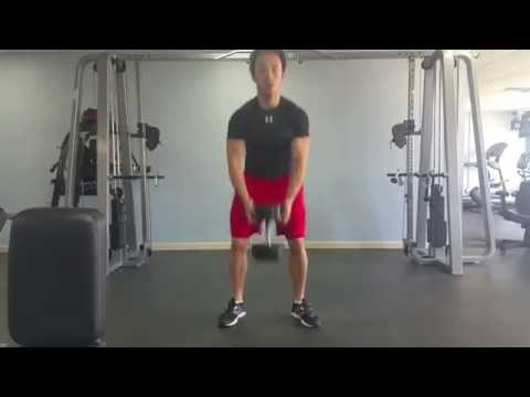 DB Clean to Goblet Squat