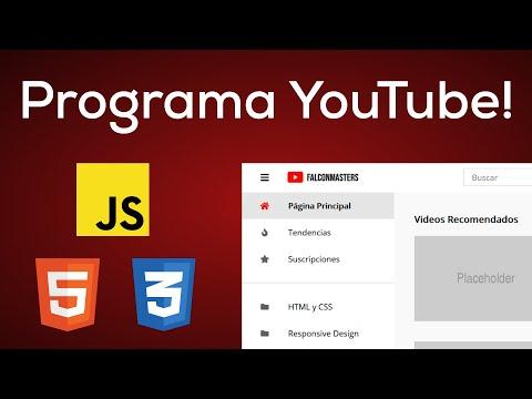 Programa La Página Principal De Youtube Con HTML, CSS, Flexbox Y GRID