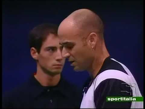 Thomas Johansson vs Andre Agassi - Stockholm 2004 Final