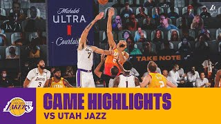 HIGHLIGHTS | Los Angeles Lakers vs. Utah Jazz