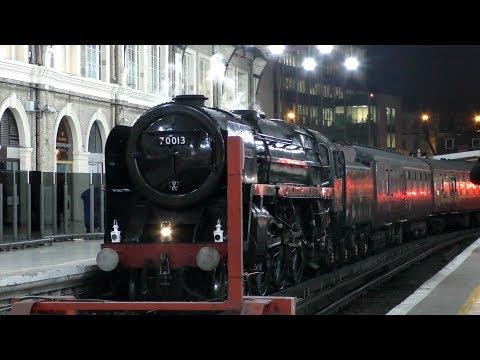 *NEW MIC* 70013 Oliver Cromwell | The Christmas Sussex Belle - 12.12.17