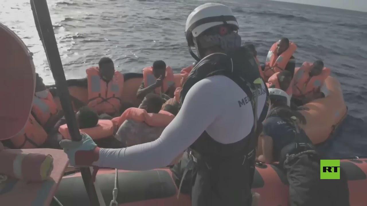 بالفيديو.. إنقاذ نحو مئتي مهاجر قبالة السواحل الليبية  - نشر قبل 5 ساعة