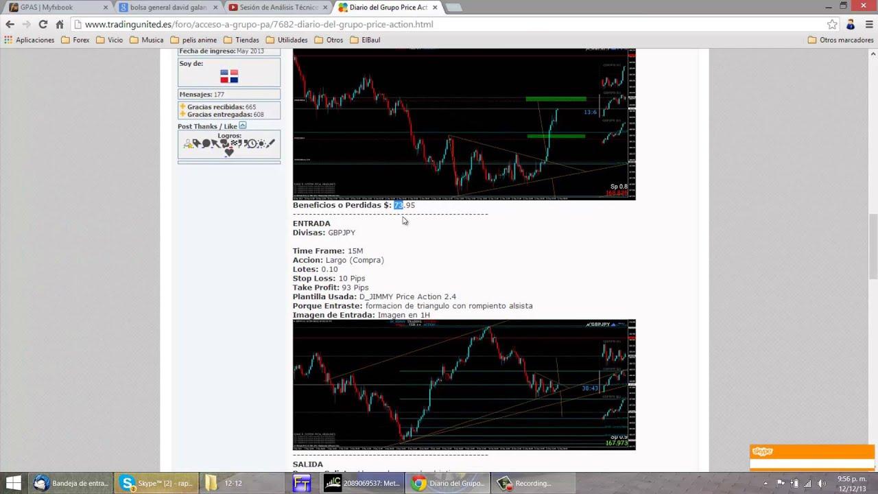 Plantilla Para un Diario de Trading - YouTube