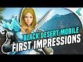 Black Desert Mobile First Impressions   A FULL FLEDGED MMO on Mobile!