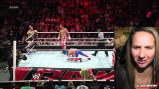 WWE Raw 11/11/13 Union Jacks 3MB vs Los Matordores/Santino Live Commentary