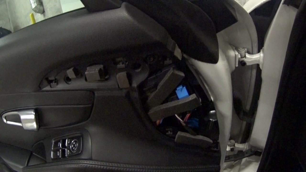 Interior Noise Rattles From Door Panel And Belt Porsche