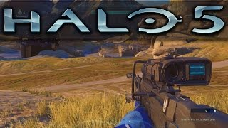 Walking Around The Alpine Forge Canvas | Halo 5 Tutorial