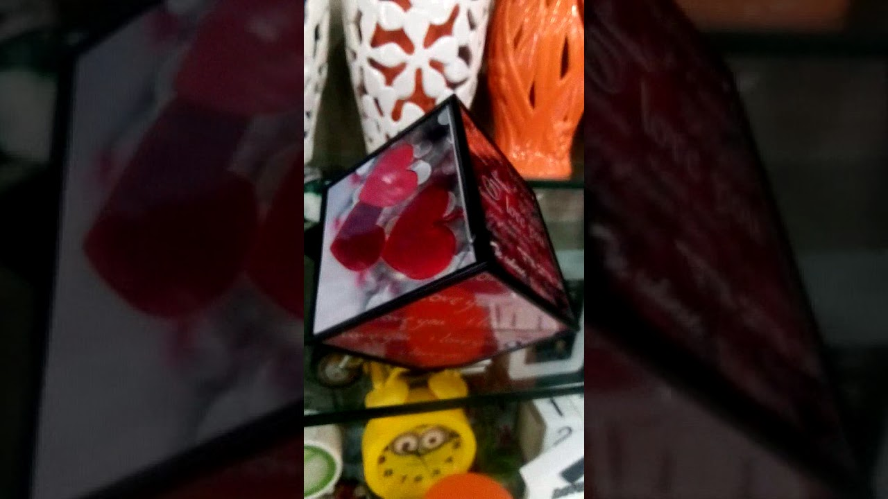 how to make a valentines cube