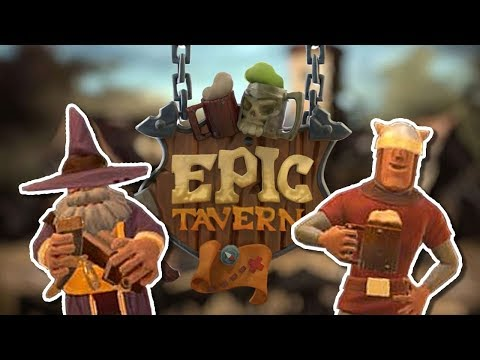 MANAGING ADVENTURERS! Epic Tavern - gameplay and walkthrough