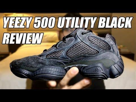 f5458cf10 ADIDAS YEEZY 500 UTILITY BLACK REVIEW