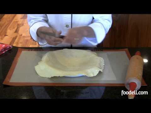 Filling A Pie Pan