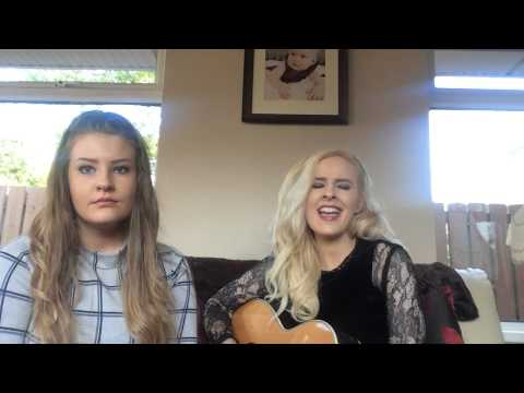 Chloe and Darci Wilders singing 'Dancing in the Sky' by Dani and Lizzy!