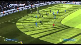FIFA 14 realistic slow gameplay Man. City - Newcastle season 19/20. French commentaries