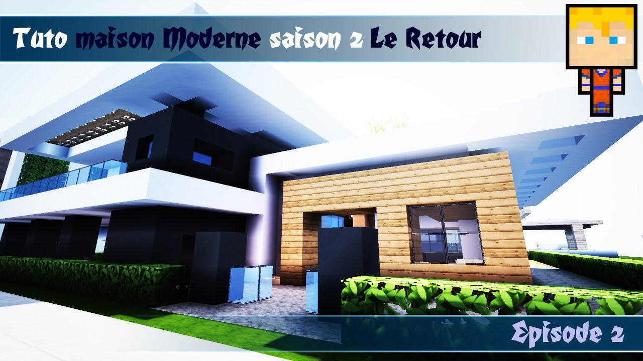 Minecraft Tuto Maison Moderne N2 Episode 23