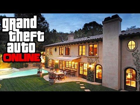 Gta 5 Online How To Get Inside A Mansion Gta V Possible