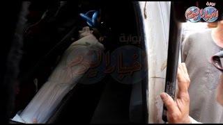 خروج جثمان سيد زيان من مسجد الحصري لتوصيله إلي مثواه الأخير