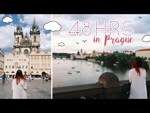 EUROPE TRAVEL VLOG #14: Prague Part 1/2 - This Place is Like a Real Life FAIRYTALE!