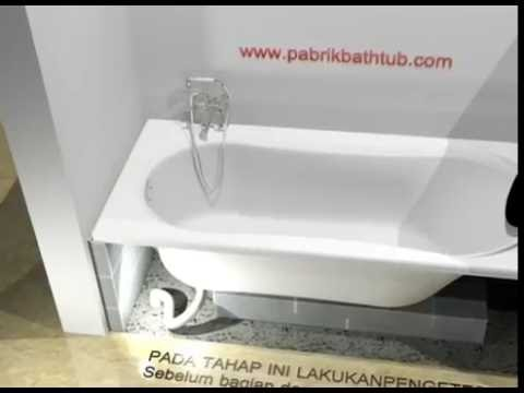 Cara Pasang Bathtub Long Tanpa Whirlpool Youtube