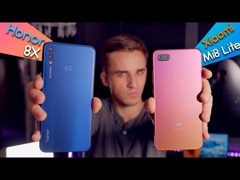 Xiaomi Mi8 Lite vs Honor 8X - кто лучше за 200$?