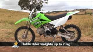 MXTV Mini Dirt Bikes Review - Kawasaki KLX110