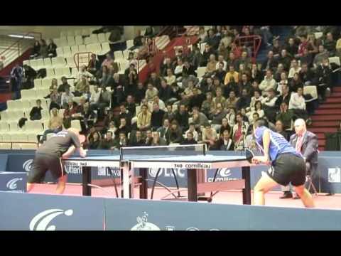 Tennis de table levallois champion de france 2008 partie 1 youtube - Champion de france tennis de table ...