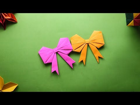 How to make Paper Bow Tie - 92Crafts