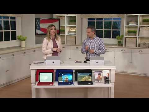 Microsoft Surface Pro 4 Intel, Keyboard MS Office, Case Stylus & Mouse on QVC