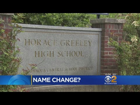 Student Calls For Horace Greeley Name Change