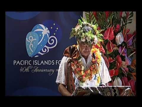 Pacific Islands Forum Secretariat 2012 Annual Leaders' Lecture Series (Pt 4)