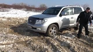 TLC 200 танцы в снегу!+Легендарный мочит off-road 4x4