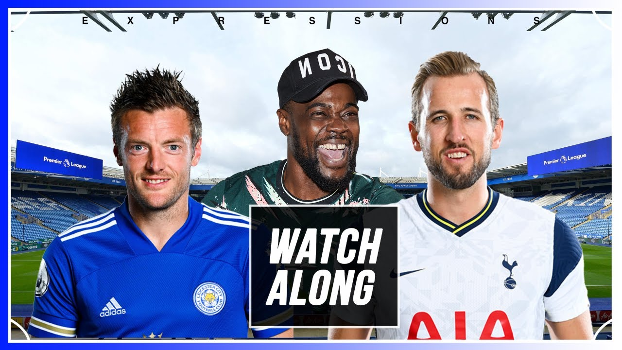 Download Leicester City vs Tottenham LIVE WITH EXPRESSIONS OOZING