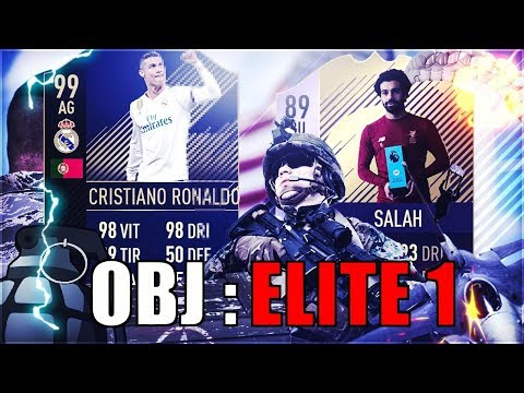 FIFA 18 FUT CHAMPION - FAUT AU MOINS ALLER CHERCHER L'ELITE !!