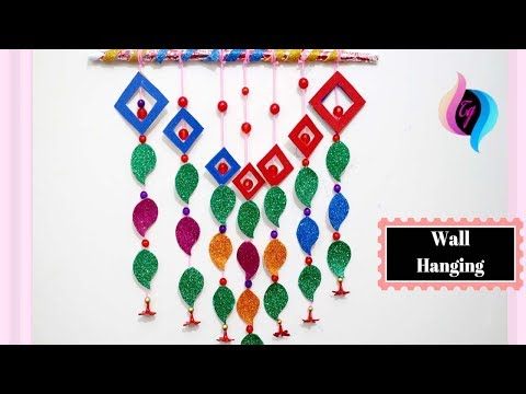wall-decoration-with-paper-craft---paper-craft-ideas-for-decoration-step-by-step