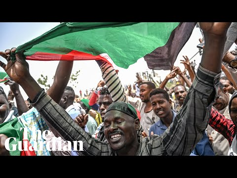 Huge crowds gather in Sudan to demand civilian rule in biggest protest since Bashir ousting