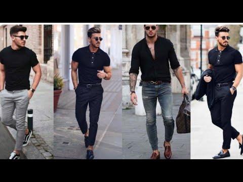 Black Shirt | black Shirt Outfit Ideas For Men summer 2019 | Formal Clothing | summer 2019 fashion | 7