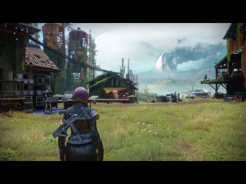 Destiny 2!! Creating my 2nd character