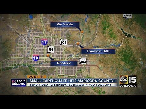 USGS: 2.8 magnitude earthquake NE of the Valley