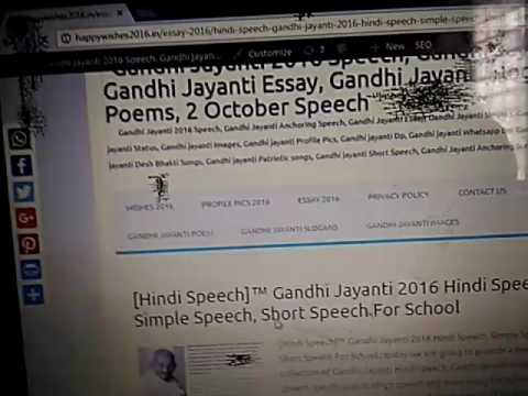 short essay on indira gandhi short essay on mahatma gandhi in     Gandhi Heritage Portal