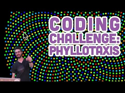 Coding Challenge #30: Phyllotaxis