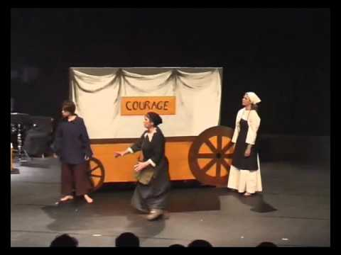 2009 MERE COURAGE par le THEATRE PARTS COEUR