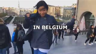One day in Belgium🇧🇪 PARKOUR AND LOTS OF FUN 🥰♥️